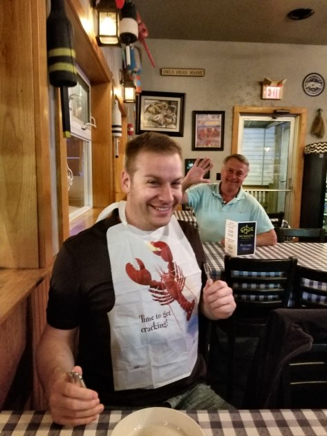 T ready to get his lobster game on