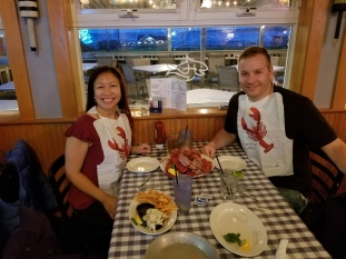 Lobster bibs for lobsters, fries, and veggies