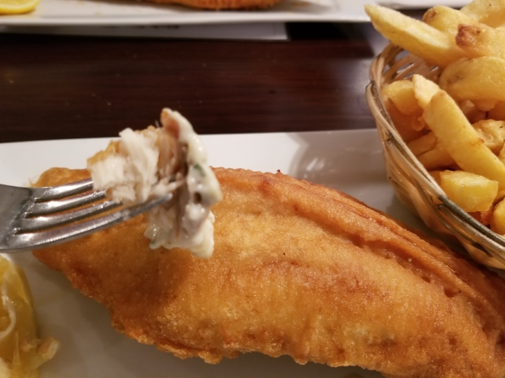 Tender Rock Salmon Fish & Chips
