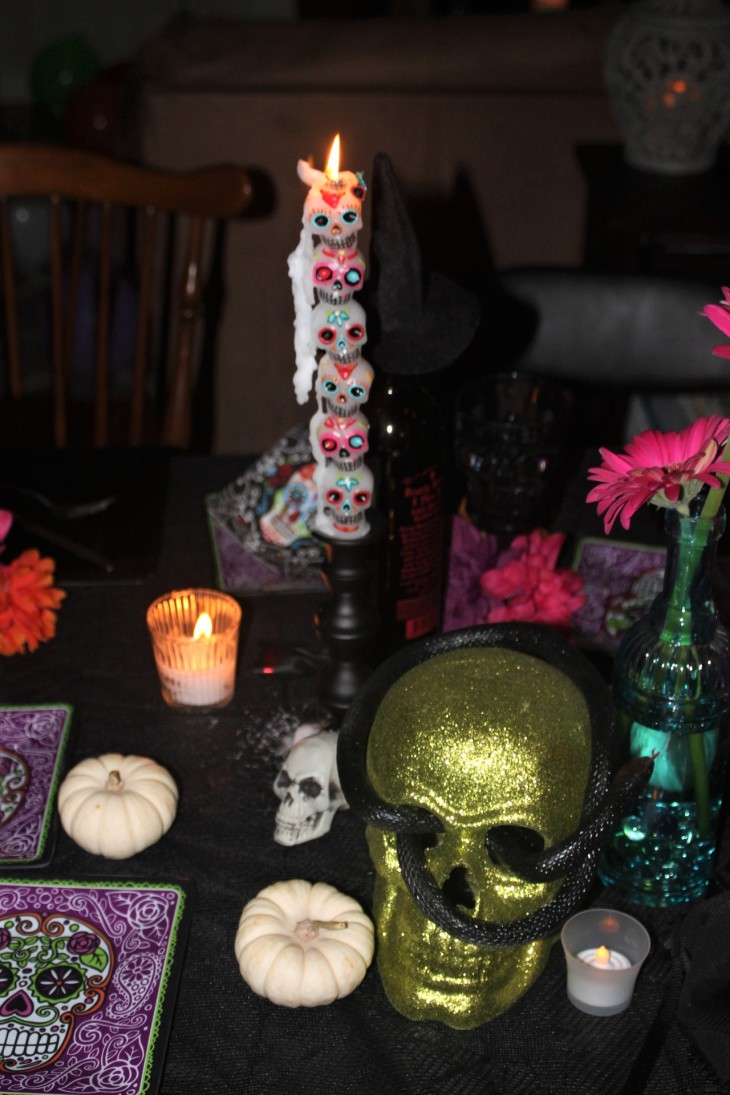 Skull + Candles