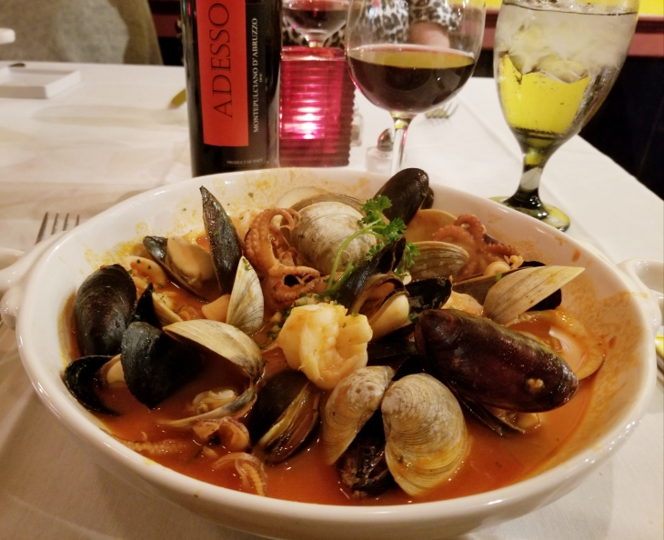 Mixed Seafood Cioppino