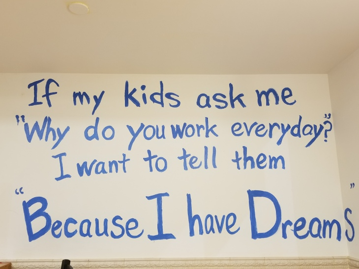 """Because I Have Dreams."""